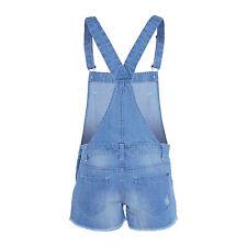 ff726d51499f denim jumpsuit shorts