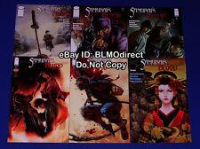 2011 Samurai's Blood 1 2 3 4 5 6 Full Run 1 6 1st Print Image Comics Samurais