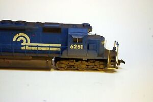 AHM SD40 Locomotive HO Scale (Conrail)
