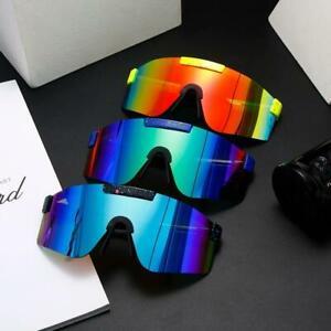 Oversized New Sports Viper Sunglasses Style Polarized TR90 Material UVA/UVB Lens