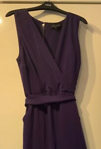 Phase Eight Jumpsuit Size 16 - Purple