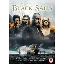 Black Sails The Complete Collection DVD 2017 Region 2