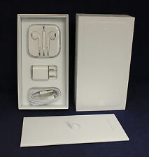 APPLE BOX AND ACCESSORIES FOR SPACE GRAY IPHONE 6 16GB BOX AND ACCESSORIES ONLY