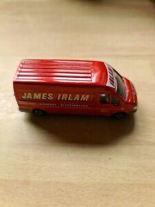 Corgi  Ford Transit Van   JAMES  IRLAM