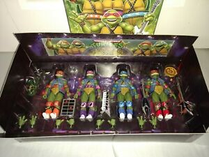 NECA TMNT SDCC Target Exclusive 2020 Musical Mutagen Tour 4-Pack NEW MISP!