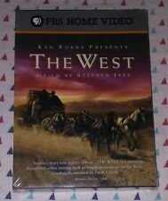NEW! PBS/ KEN BURNS: THE WEST. A STEPHEN IVES FILM. 5-DISC SET. SHIPS FREE