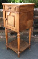 Elegant 19th Century Marble Top Pot Cupboard / Bedside Cabinet