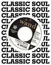 AL WILSON    HELP ME (vocal) / Instrumental   UK WAND/OUTTASIGHT  NORTHERN