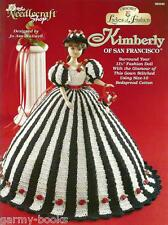 Kimberly of San Francisco Ladies of Fashion Crochet Pattern for Barbie Dolls NEW