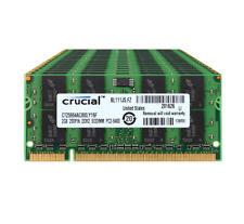 Crucial 10x 2GB 2RX8 PC2-6400S DDR2 800Mhz 200Pin SODIMM RAM Laptop Memory ##DD
