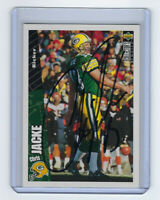 1996 PACKERS Chris Jacke signed card Upper Deck #GB11 AUTO AUTOGRAPHED Green Bay