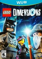 LEGO Dimensions (Nintendo Wii U 2015) REPLACEMENT GAME ONLY - NEW - FREE SHIP ™