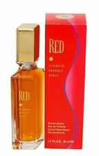 RED by Giorgio Beverly Hills 3.4 oz [ 1.7 oz x 2 Bottles ] EDT Spray For Women