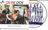 CD Single - Celine Dion* ‎– Tout L'Or Des Hommes Label: Columbia ‎– COL 674251