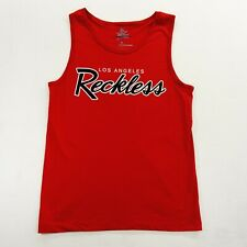 New Pacsun x Young & Reckless Y&R LA Mens Red 100% Cotton Tank Top T-Shirt S