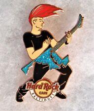 HARD ROCK CAFE BALTIMORE ROCKER GUY PLAYING GUITAR MARYLAND SHAPED PIN # 93267