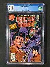 Suicide Squad #5 CGC 9.4 (1987)