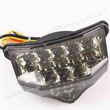 For Yamaha FZ6 2004-2008 Integrated LED Turn Signals Tail Light Smoke