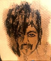 """""""PRINCE"""" PAINTING Original SWARTZMILLER DNA SIGNED Pop Art Wall OUTSIDER Listed"""