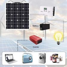 Panel Solar De 60W 18V Cargador de batería para coche barco caravana de vehículos recreativos Hogar acampar al aire libre