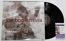 JOE BONAMASSA SIGNED BLUES DELUXE LP VINYL RECORD GUITARIST AUTOGRAPHED +JSA COA