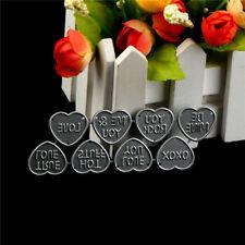 8Pcs Love Design Metal Cutting Die For DIY Scrapbooking Album Paper Card MT