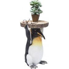 Mr Penguin End Side Table Resin Bedside Lamp Telephone Table 52cm X 35cm