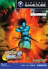 USED Capcom vs. SNK 2 EO: Millionaire Fighting 2001 japan import Game Cube