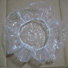 OE Disposable Clear Spa Hair Salon Home Shower Bathing Elastic Cap 20 PGX