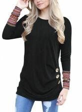 Long Sleeve Blouses for Women with Buttons