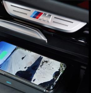 GARNITURE MOULURE LOGO BADGE EMBLÈME BMW X3 G01 X4 G02 cache console centrale