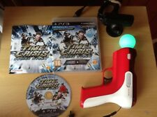 (PS3) time crisis 4 razing and dead pirates storm games in 1Move  gun  Camera