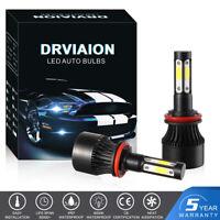 H8 H9 H11 200W 30000LM LED COB Phare de Voiture kit Ampoules Super Bright 6500K