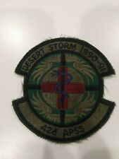 Desert Storm 1990-91 42d Apss Patch