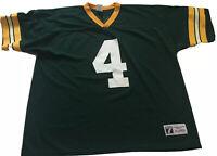 Vintage 90's Logo 7 Brett Farve Green Bay Packers Jersey Mens XL NFL Official