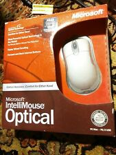 NEW Microsoft Intellimouse Optical USB Wired Mouse 5 button X08-70357 READ!