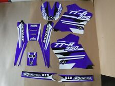 FLU Designs PTS4 Team Yamaha graphics TTR250 2000-2012