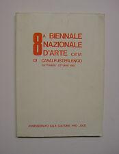 8 Biennale nazionale d'arte città di Casalpusterlengo, 1983 Lodi Codogno