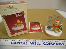 2005 Hallmark Keepsake Disney True Friends Winnie the Pooh Christmas Ornament