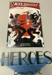 KILL WHITEY DONOVAN #1 Cover A Jason (Body Bags) Pearson Dark Horse 1st print