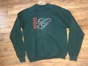 Vintage Guess Bootleg Sweater Men's XL Embroidered Logo ASAP Wotherspoon