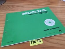 motore Honda parts list GX120K1 GX120 K1 GX120 catalogo pezzi staccati part