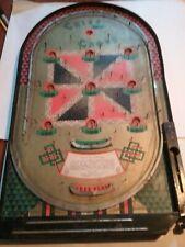 *Vintage J. Schneider Co. Criss Cross Early Pinball Machine-Works-L@K*