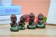 Small Buddha Statue Monk Figurine India Cute Sculptures Yoga Mandala Tathagata