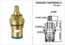 REPLACEMENT BRASS CERAMIC DISC TAP VALVES CC5 QUARTER TURN GLAND INSERT PAIR