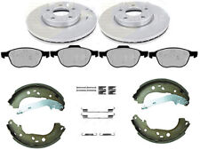 FORD FOCUS MK2 1.6 1.8 FRONT BRAKE DISCS & PADS REAR SHOES FITTING KIT (278mm)