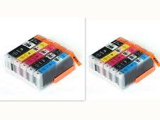 10-Pk Ink Cartridge for Canon PGI-250 CLI-251 PIXMA MG5420 MG5422 MG5520 MG5522