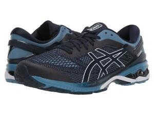 New Men's ASICS Gel Kayano 26 Running Shoes Size 11 2E Wide 1011A542-400 Blue