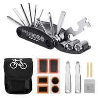 Bike Bicycle Repair Tool Kit, Cycling Multifunctional Mechanic Fix Tools Se V7W3
