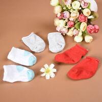 1Pair Mini Doll Socks For 16 Inch Doll Toy Party Cloth Handmade Random Se O1L1